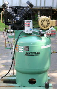 Speedaire Air Compressor Two Stage 10 Hp Model 1wd73 34 8 Cfm 175 Psi