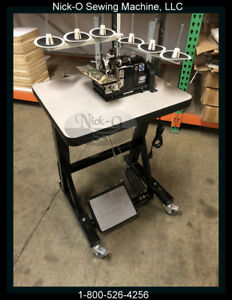 New Merrow Mg 3u Limited Edition Black Color Complete W custom Table stand