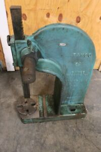 Famco Ratcheting Arbor Press 3 1 2 Ton Table Top Usa