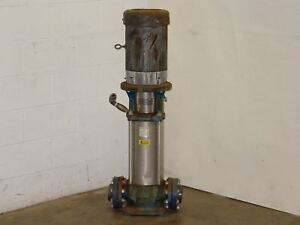 Goulds Pumps 15 Hp Ssv 3 5 Electric Water Pump 5svbk4t