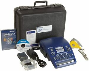 Brady Bmp71 Label Printer With Labelmark 6 Standard Labeling Software bmp71 lm