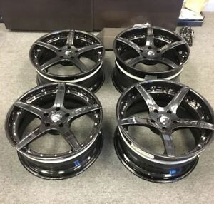 Four 4 New Old Stock 20 Forgiato 5 Spoke Rims For 991 Porsche
