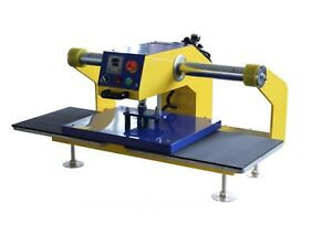 Air Automatic Heat Press Machine For Clothing double Locations