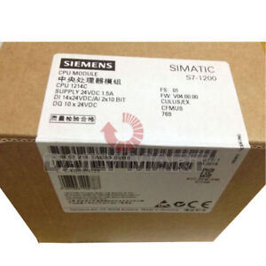 New In Box Siemens 6es7 214 1ag40 0xb0 Simatic S7 1200 Cpu 1214c Compact 100kb