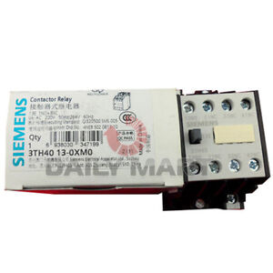 New Siemens 3th4013 0xm0 Contactor Relay Programmable Logic Control 3th40130xm0