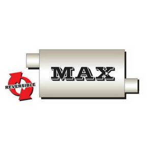 Flo Pro Max Oval Muffler Offset Offset 2 5 In 2 5 Out 20 Long