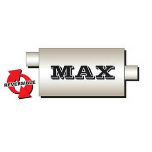 Flo Pro Max Oval 9 X 4 Muffler Offset Center 3 In 3 Out 24 Long