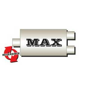 Flo Pro Max Oval Muffler Center Dual 3 In 2 5 Out 28 Long