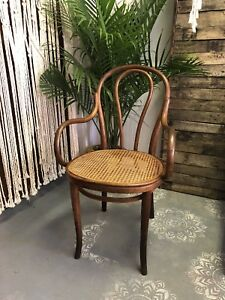 Vintage Thonet Bentwood Arm Chair