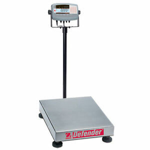 Ohaus D71P300HX2 Defender 7000 Bench Scale Cap 300kg Read 20g Make Offer Waranty