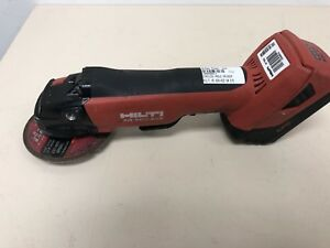 Hilti Ag 500 a22 Cordless Grinder W Battery used Free Shipping