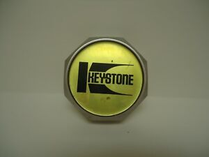 Original Keystone Bolt On Chrome Rim Wheel Center Cap 3 1ea