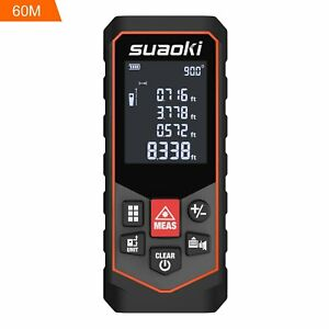 Suaoki S7 Laser Measure 197ft Laser Distance Meter For Distance Area Volume