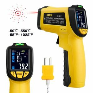 Urceri Infrared Thermometer Ir 817 58 f 1022 f 50 c 550 c Digital Ir