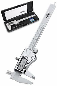 Aickar Digital Caliper Stainless Steel Electronic Digital Caliper Digital