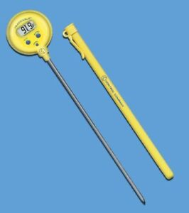 Lollipop Thermometer Traceable F c 50 To 300c 8 Inch Stem 1 0c