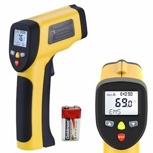 Lurico Infrared Thermometer Non contact Digital Laser Temperature Gun