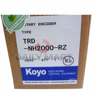 New Koyo Trd nh2000 rz Programmable Logic Absolute Hollow Rotary Switch Encoder