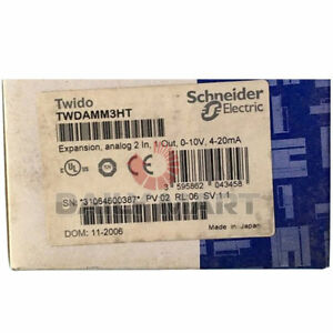 New Schneider Twdamm3ht Expansion Module Input output 2in 1out 24vdc Plc 1pc