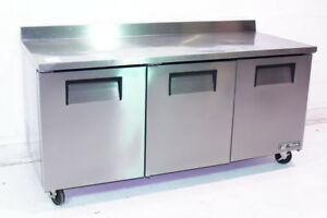 Used True Twt 72 72 Restaurant Work Top Cooler Refrigerator