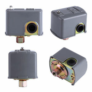 Scorpio Pressure Control Switch For Well Tank Water Pump Double Spring