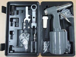 Pneumatic Air Riveter 3 16 Capacity Pop Rivet Gun Kits