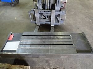 70 875 X 23 875 X 6 5 Steel Weld T slot Table Cast Iron Layout 5 Slot Jig