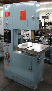 Powermatic 20 Vertical Metal Cutting Band Saw Model 87