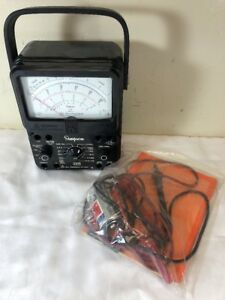 260 Simpson Series Multimeter 8 Overload Protection Analog