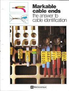 Cable Ends For Plc s Complete Field Kit By Telemecanique Draht Schuh France
