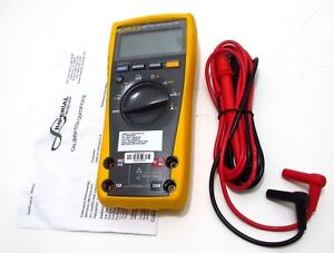 Fluke 177 True Rms Multimeter Calibrated W 2018 2019 Certificate Excellent