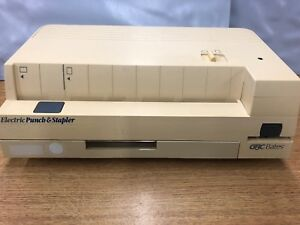 Ganaral Binding Corporation Gbc Bates 32 20st Electric Punch Stapler