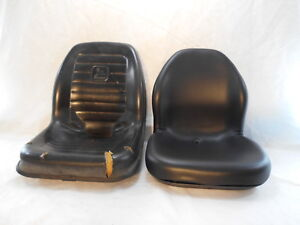 Black John Deere Skid Steer Loader Seat 320 325 328 332 Ct315 Kv24167 bbai