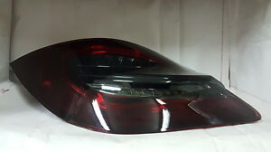 Porsche Boxster 987 Cayman Red Smoke 2nd Gen 981 Style Led Tail Lights