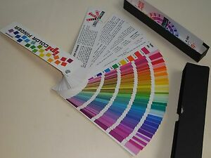 Interchemical Printing Ink litho Color Selectorswatch Uncoated Over 400 Colors