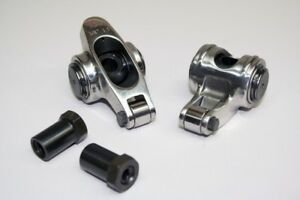 Chevy 262 400 Stainless Steel Roller Rocker Arms 1 6 X 3 8 Fully Polished Sale