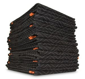Wen 272812 72 inch By 80 inch Heavy Duty Padded Moving Blankets 12 pack