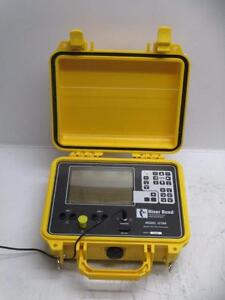 riser Bond 1270a Radiodetection Metallic Tdr Cable Fault Locator Reflectometer