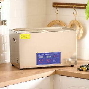 30l Ultrasonic Cleaner For Cleaning Jewelry Dentures Small Parts Circuit Board