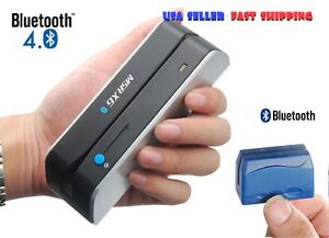 Msr x6bt Writer Encoder Dx5 Bluetooth Wireless Magnetic Credit Card Reader Usa