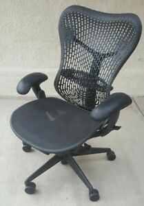Herman Miller Mirra Office Chair Ergonomic Adjustable Mr123aam Ajg1bb G1bk 7q01