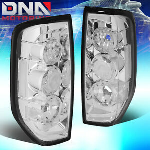For 2005 2014 Nissan Frontier Chrome Housing Altezza Tail Light Rear Brake Lamps