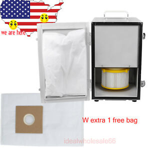Ce Fda 2018 Dental Digital Single row Dust Collector Vacuum extra Filter Bag