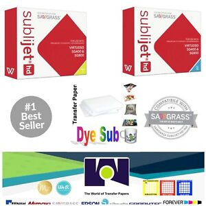 Sawgrass Sublimation Ink Cyan Yellow Cartridges For Sg400 sg800 Free Paper