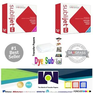 Sawgrass Sublimation Ink Cyan Magenta Cartridges For Sg400 sg800 Free Paper