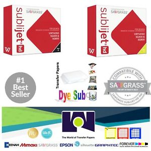Sawgrass Sublimation Ink Black Yellow Cartridges For Sg400 sg800 Free Paper