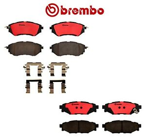 New Front And Rear Brembo Brake Pads Set Kit For Subaru Wrx 2015 2017