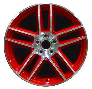 19 Ford Mustang Boss 302 2012 2013 Factory Oem Rim Wheel 3890 Rear Red