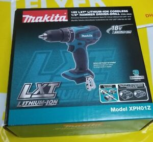 Makita Xph01z 18v Lxt Lithium ion Cordless 1 2 inch Hammer Driver drill 100 New
