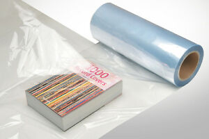 28 500 Ft 75 Gauge Pvc Heat Activated Shrink Wrap Film Clear Centerfold